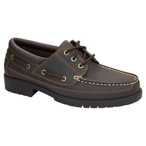 boat shoes kmart thom mcan men s travis boat shoe brown