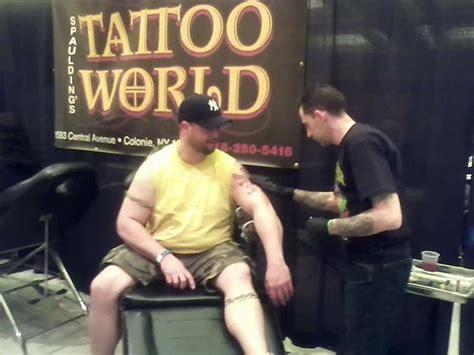 tattoo expo upstate ny new tattoo for levack at the saratoga tattoo expo
