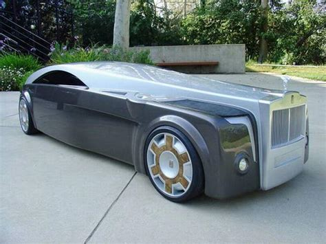 Sci Fi Modified Rolls Royace Concept Car Xcitefun Net