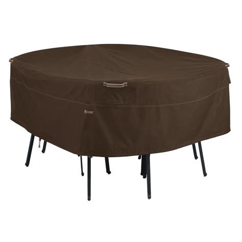 Classic Accessories Patio Furniture Covers Classic Accessories Madrona Large Rainproof Patio Table And Chair Set Cover 55 722 046601