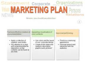 Marketing Plan Template Free Powerpoint by Marketing Plan Powerpoint Ppt Template Template