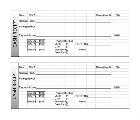 Gate Receipt Template by Luxury Microsoft Excel Receipt Template Collection