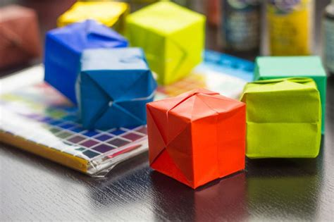 Cool Origami Boxes - how to make an origami box for hub cool