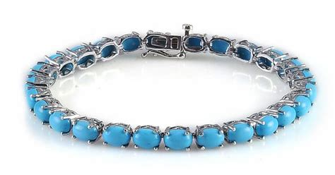 Gelang Silver Chanell Plat Besar liquidation channel arizona sleeping turquoise bracelet in platinum overlay sterling