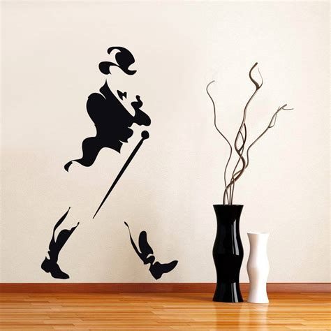 johnny walker colors johnny walker logo decal wall sticker home all colors