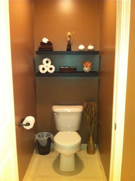 Finally did our master bathroom toilet room!! Got the idea on Pinterest ..thanks!   Home