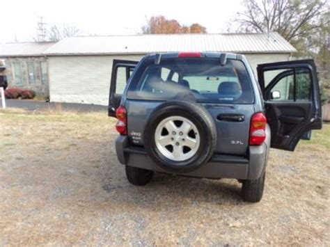 2002 Jeep Liberty Sport Mpg Purchase Used 2002 Jeep Liberty Sport 4x4 Low Mileage