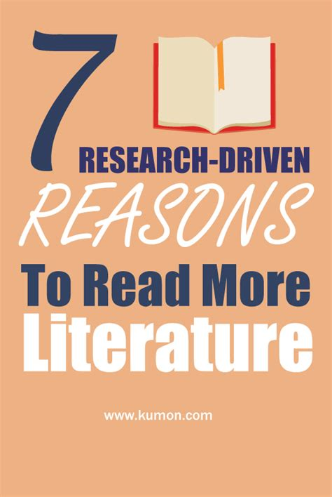 7 Reasons To Read Nonfiction by 7 Research Driven Reasons To Read More Literature Kumon