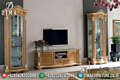 Bufet Tv Bufet Jati Pajangan Mebel Jepara bufet tv minimalis jati jepara lemari hias mewah terbaru