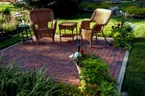 patio landscaping ideas on a budget simple garden gazebo