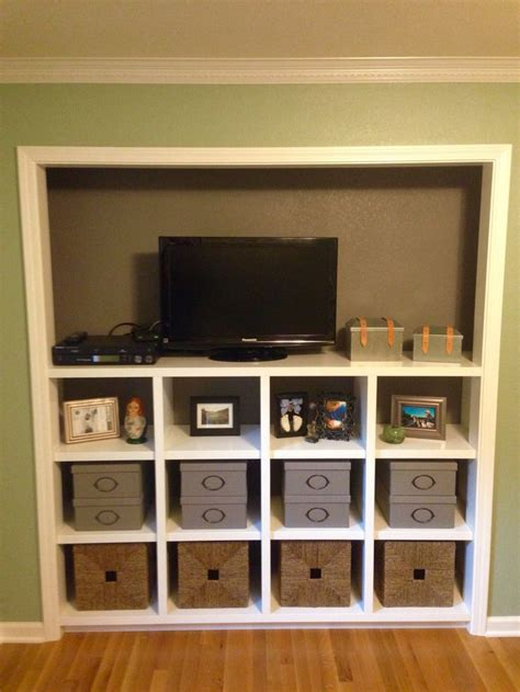 Entertainment Center Closet by 17 Best Ideas About Closet Transformation On