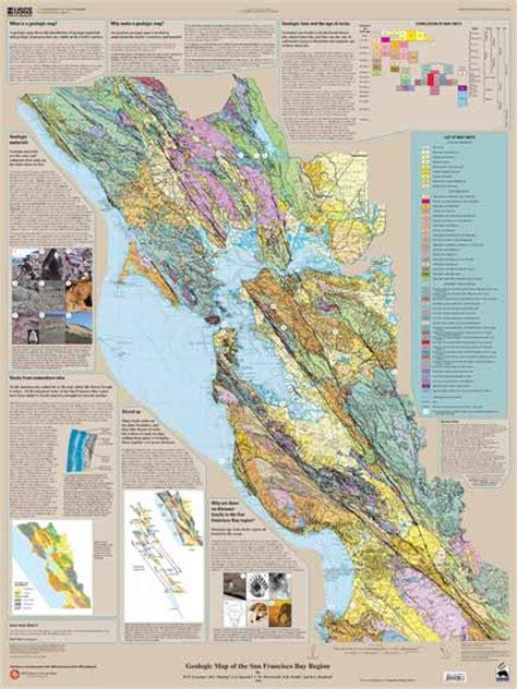 san francisco geology map geologic map of the san francisco bay region