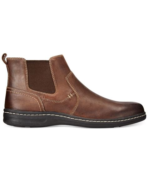 johnston and murphy mens boots johnston murphy mccarter boots in brown for lyst