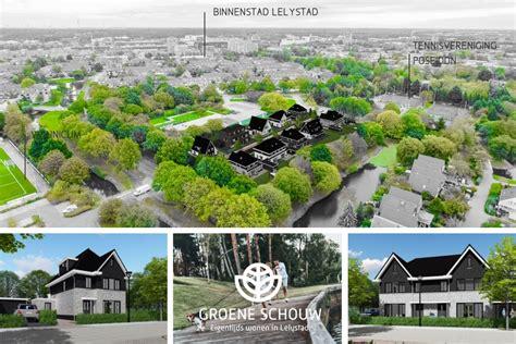 schouw lelystad nieuw project groene schouw eigentijds wonen in het hart