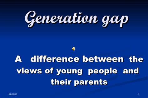 generation gap d