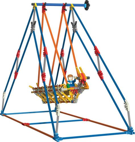 K Nex User Group K Nex Swing Ride Pirate Ship Octopus
