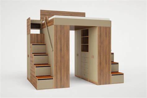 king size loft bed with stairs go crazy over these super cool loft beds for adults