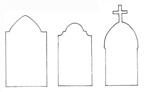 Blank Tombstone Template Clipart Best Gravestone Template Printable