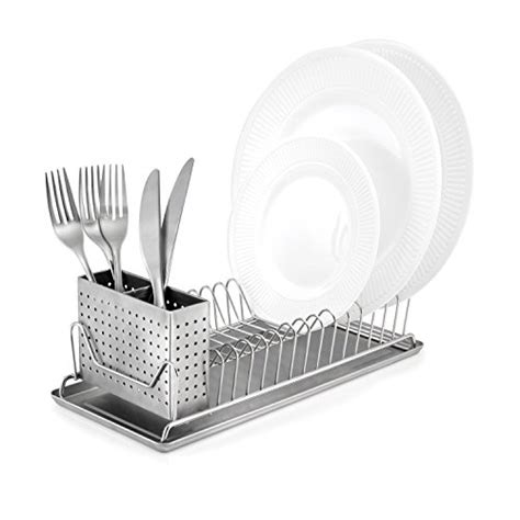 Stainless Steel In Sink Dish Rack by Stainless Steel Compact Dish Rack Utensil Holder Drainer