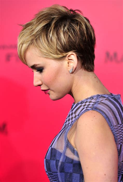 haircut hairstyle games more pics of jennifer lawrence pixie 41 of 134 pixie