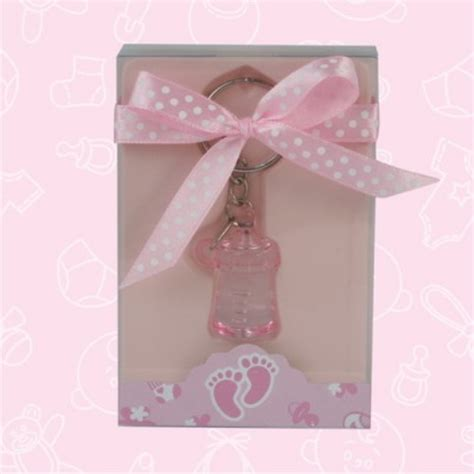 baby shower keychain favors baby shower baby bottle keychain favors baby shower