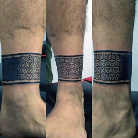 mens ankle tattoos 60 ankle band tattoos for tattoos for