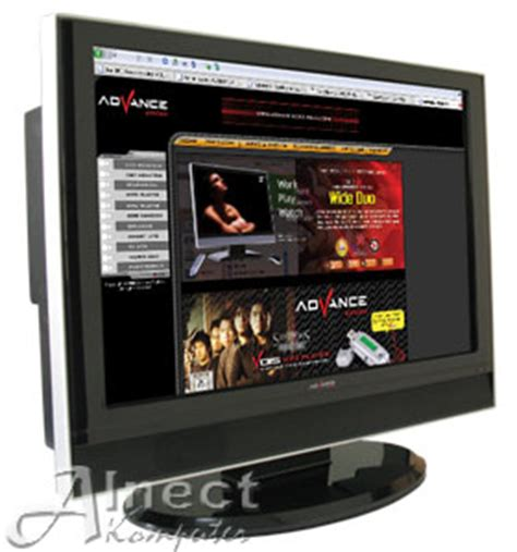 Harga Tv Merk Advance 21 Inch jual monitor lcd tv 21 inch advance v2120 monitor crt