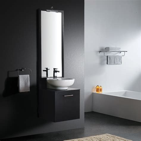 18 inch bathroom mirror vigo industries vigo 18 inch single bathroom vanity with