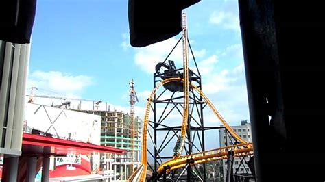 theme park bandung trans studio bandung indonesia roller coaster youtube