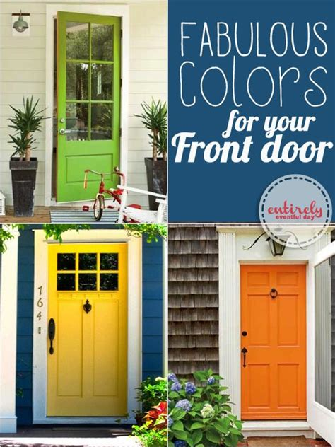 Front Door Paint Color Ideas Cool Front Door Paint Ideas Even Gives Actual Paint Name Suggestions Must Pin I Will Paint My