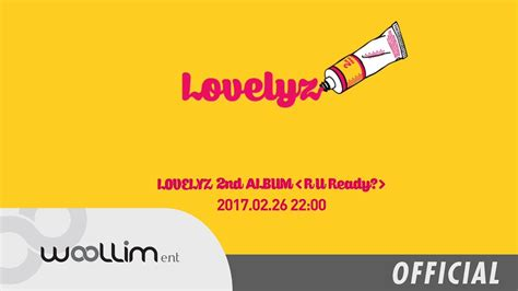 Album Lovelyz R U Ready Wow Cameo Cd Dvd Oriiginal Official Korea 러블리즈 lovelyz quot r u ready quot album preview