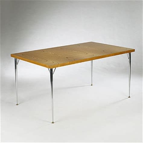 Plywood Dining Table Rhythmic Plywood Dining Table Model 901 For Sale At Wright