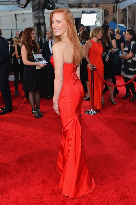 2008 Screen Actors Guild Awards The Carpet 2 by Chastain Photos Photos 19th Annual Screen Actors