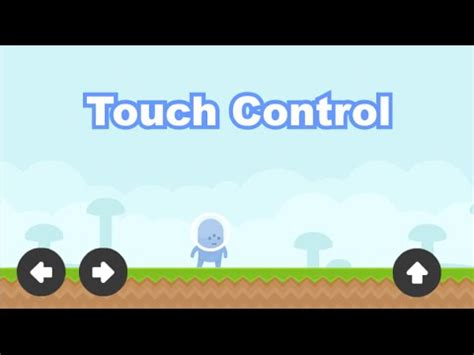 construct 2 touch controls tutorial touch control construct 2 tutorial capx youtube