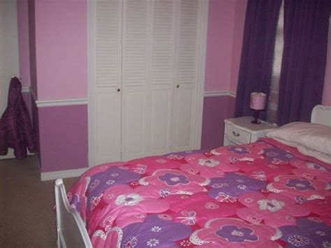pink and purple bedroom pink and purple girls room love the two tones on the
