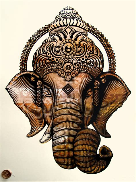 ganesha tattoo que significa postersandprints a street art graffiti blog the best