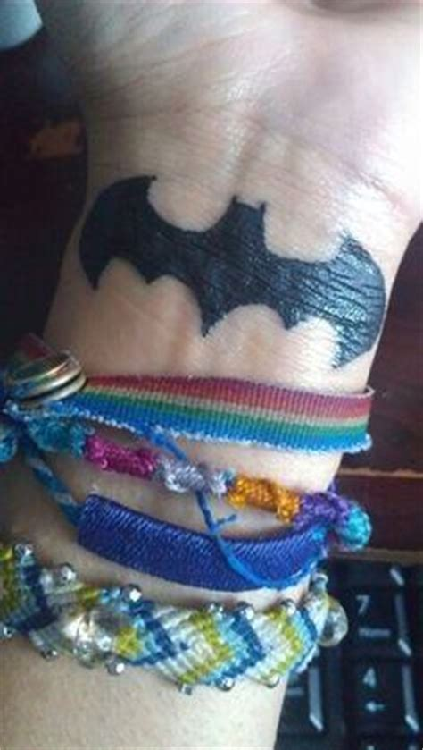 batman tattoo on wrist pics for gt batman tattoos on wrist