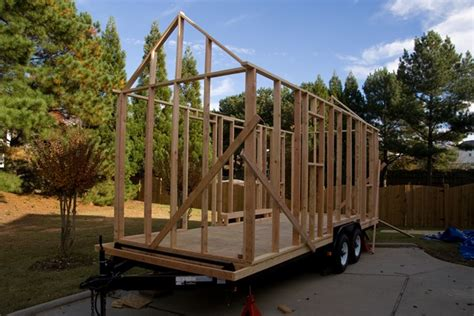 how to build a frame house how to build a tiny house