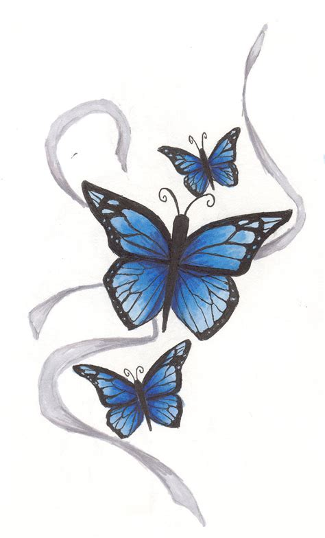 elegant butterfly tattoo designs ink butterfly by megan welch