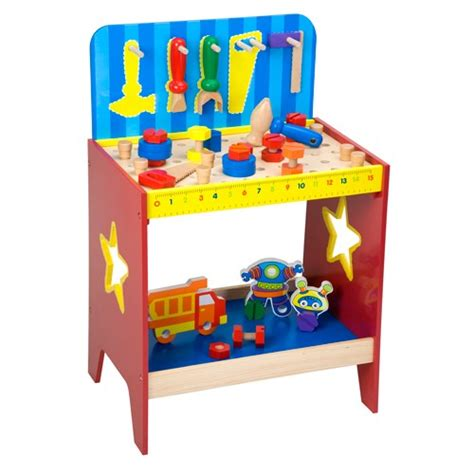 boys wooden tool bench children wooden work bench educational toys planet