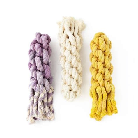 Chew Rope fisherman rope chew pop of color toys and chews