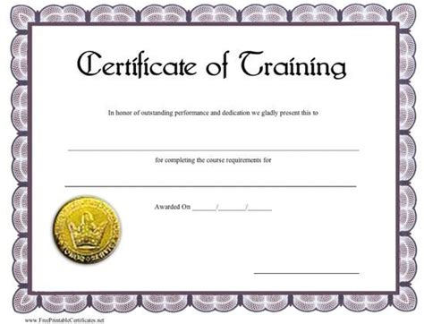 21 best images about certificate on pinterest training