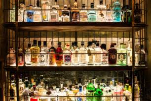 the gin bar at holborn dining room near covent garden in custom wet bar traditional dining room new york by