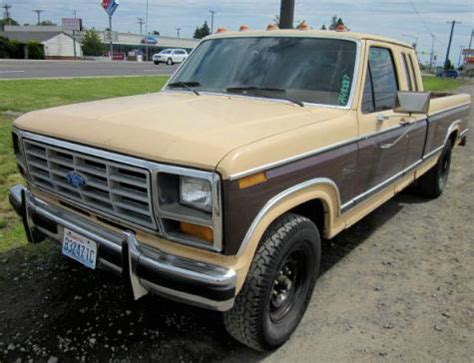 Cheap Truck Under $1000   Used Ford F 250 '82 SuperCab in