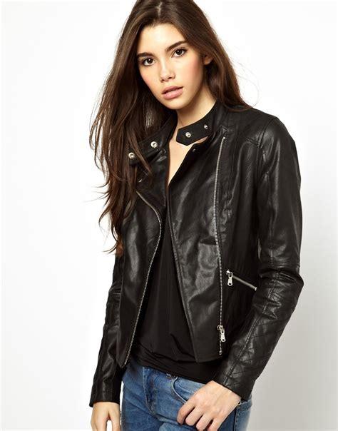 modelos de chompas para mujer chaqueta de cuero para mujer