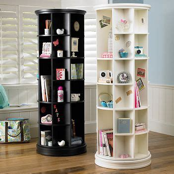 revolving bookcase from pottery barn home furniture