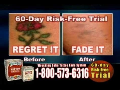 wrecking balm tattoo removal before and after fade your at home with wrecking balm
