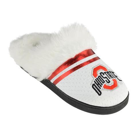 ohio state slippers ncaa s ohio state buckeyes white
