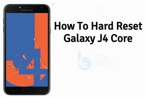 hard reset samsung galaxy  core tutorial techbeasts