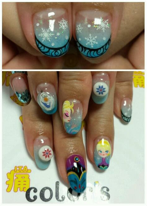 easy nail art characters 487 best character nail art 1 images on pinterest cute